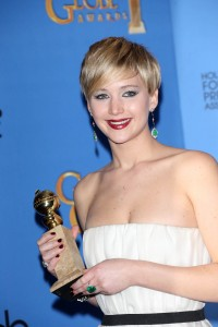 Jennifer Lawrence 71st Golden Globe Press Room 44