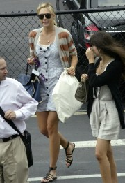 Camilla Belle and Maria Sharapova in Miami March 26 12